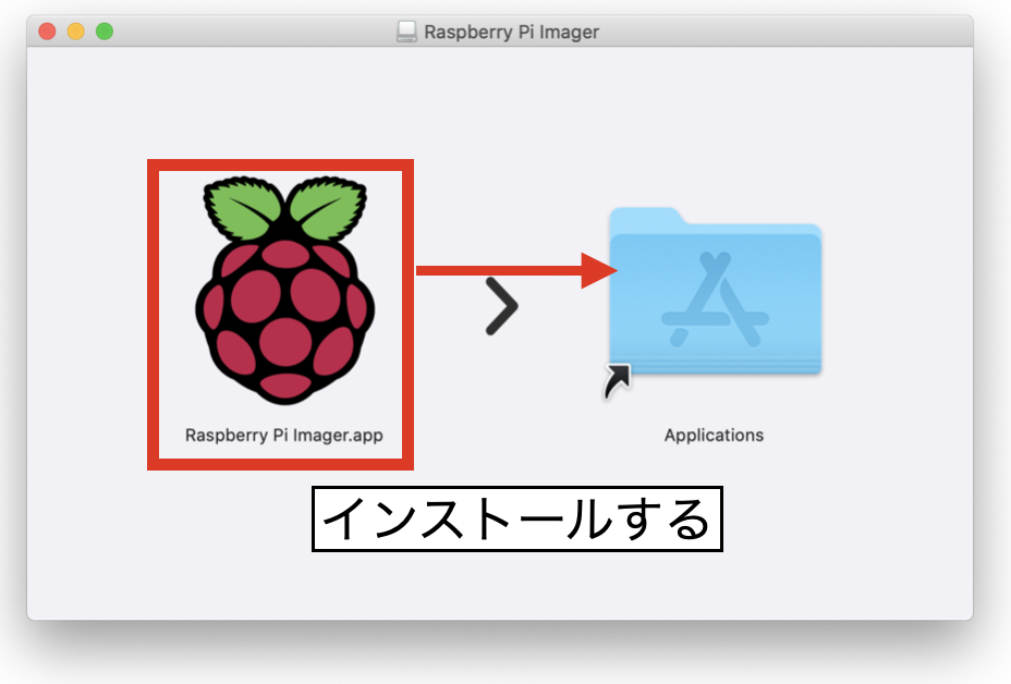 Raspberry Pi Imagerインストール