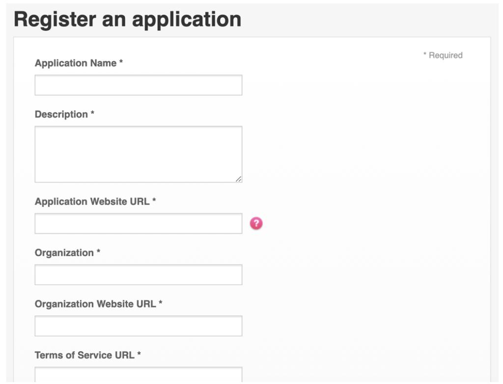 アプリで登録する内容