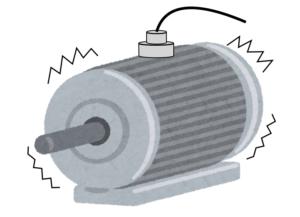 モータ振動計測の例