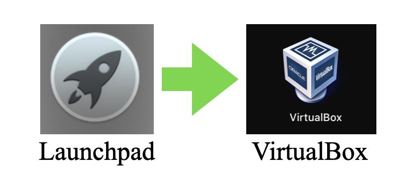 VirtualBoxの起動